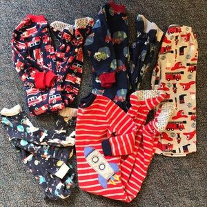 Boys 3T pajama bundle 5 pieces